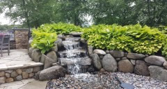 Landscape Waterfall design Service