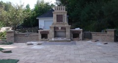 Fireplace Landscape Design