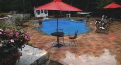 Elegant Poolside Landscapes