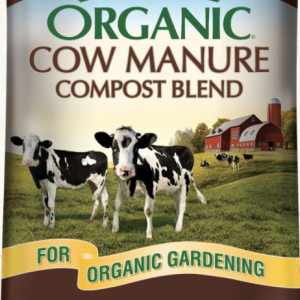 Organic cow Manure compost blend